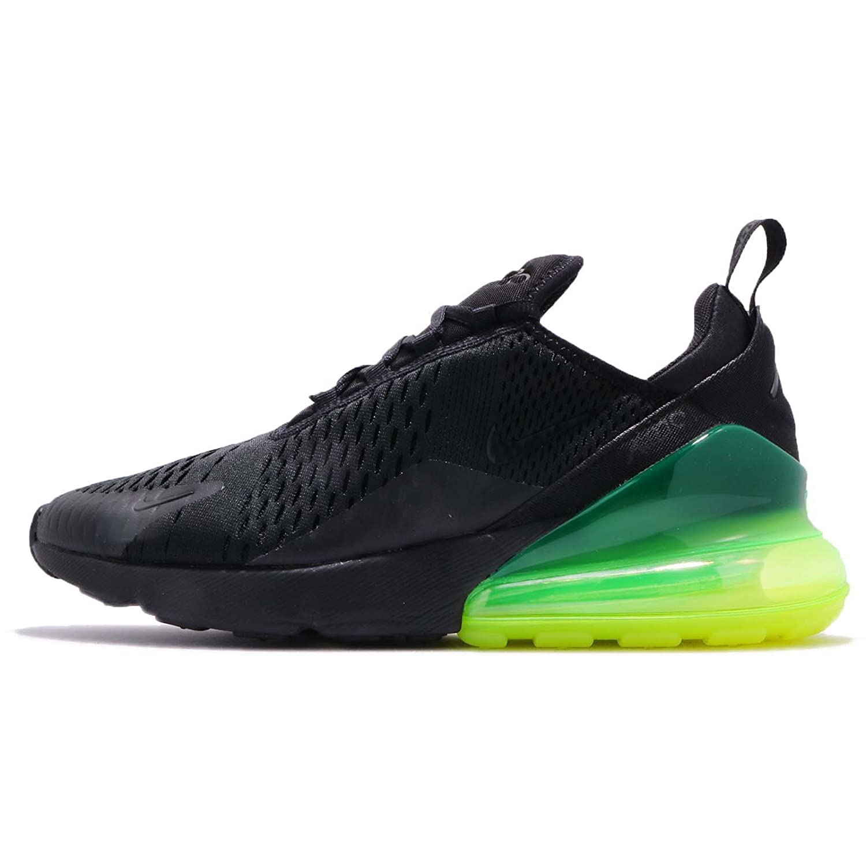 (ナイキ) エア マックス 270 メンズ ランニング シューズ Nike Air Max 270 AH8050-011 [並行輸入品] B07BQNHV92 26.5 cm BLACK/BLACK-VOLT