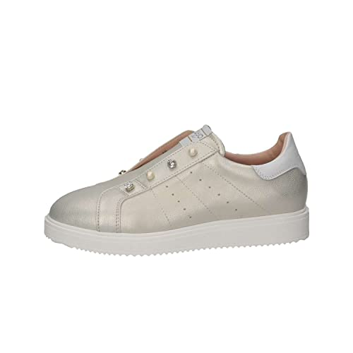 LIU-JO GIRL L4A4-00335-0051514 Sneakers Donna Platino 37  Amazon.it ... e946ec48374