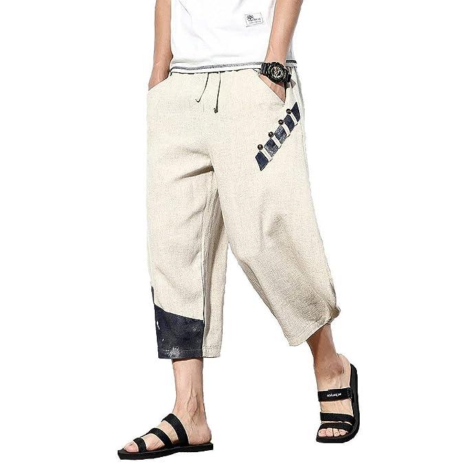 new product 13a74 a5067 Pantaloni Harem Uomo Giuntura E Pantaloni Larga Gamba ...