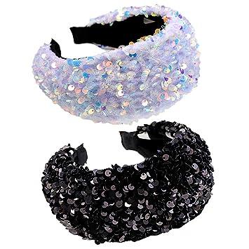 Sequins headband,Wide Headband,stylish fashion hairband,glittering headbands for women,fabric headbands,thanksgiving head bands for women