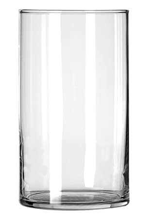 Amazon Libbey Cylinder Vase 6 Inch Clear Set Of 12 Home