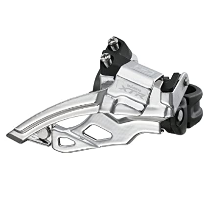 aa3224e6460 Amazon.com : Shimano FD-M985 XTR 2x10 Low-Clamp Front Derailleur,  28.6/31.8/34.9 : Front Bike Derailleurs : Sports & Outdoors