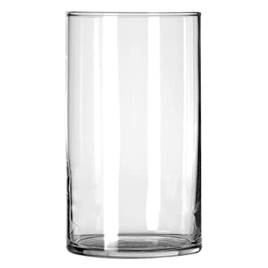 Libbey Cylinder Vase, 6-Inch, Clear, Set of 12