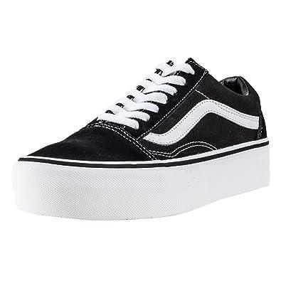 Vans Old Skool Platform, Chaussures de Running Femme  Amazon.fr ... 5d46de96106d