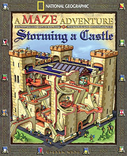 Books : Storming A Castle: National Geographic Maze Adventures
