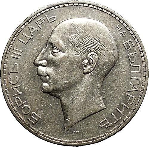 Authentic Ancient Greek Roman Coins & More 1937 Boris III Tsar of Bulgaria 100 Leva Large Old European AR Coin i50189