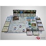 e-Raptor ERA93699 - Kartenspiele, Board Game Organizer, Arkham Horror