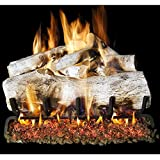 Peterson Real Fyre 18-inch Mountain Birch Gas Logs Only No Burner