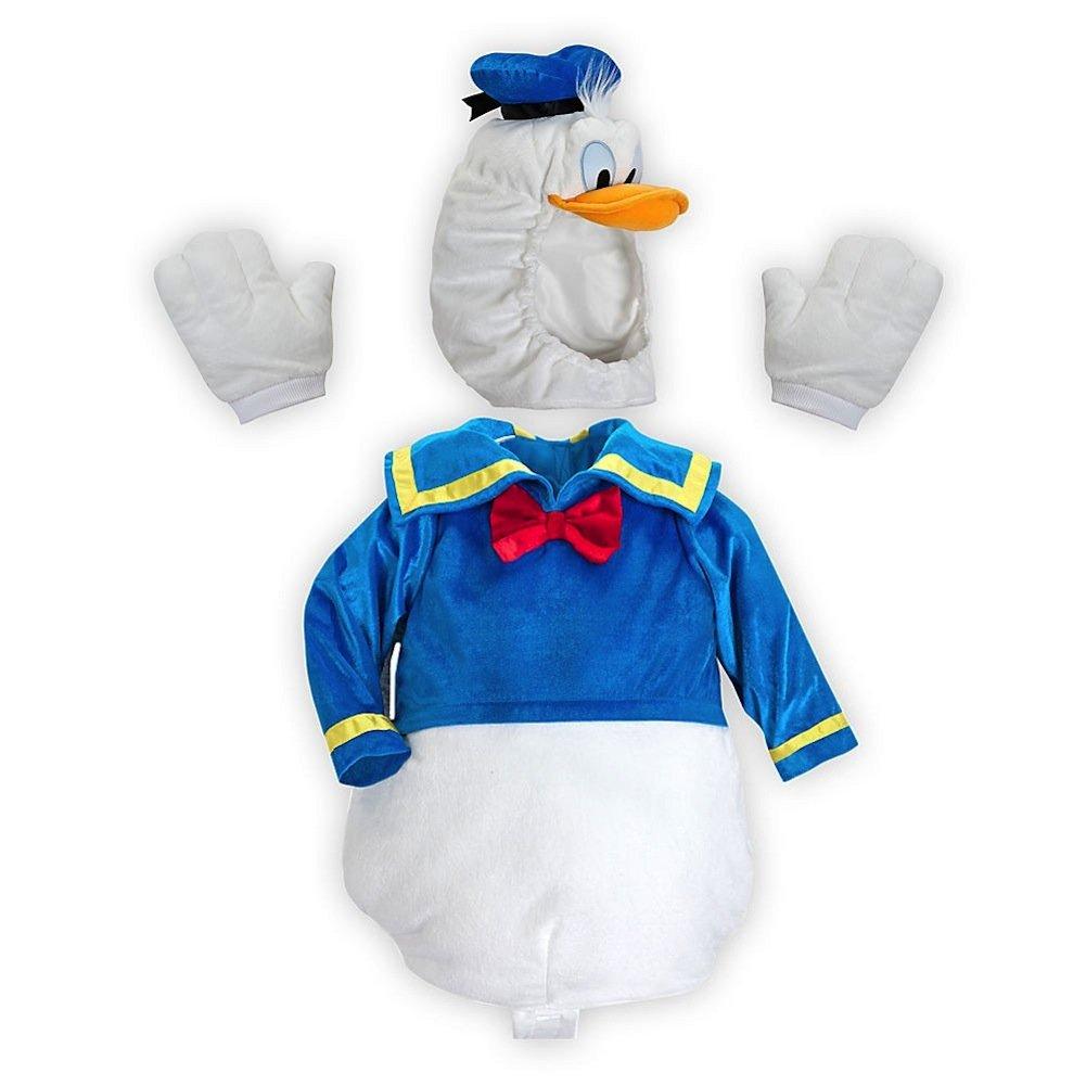 Amazon Disney Store Donald Duck Plush Halloween Costume Size 18