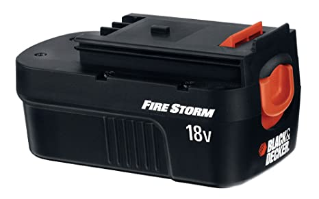 Ultra Black & Decker FSB18 FireStorm 18-Volt NiCad Slide Style Battery BK89