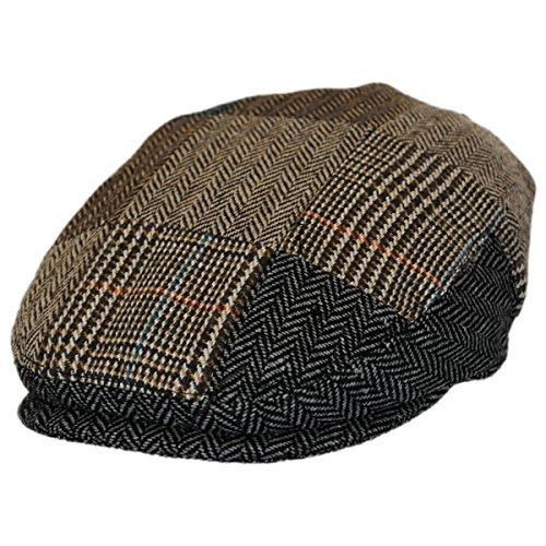 Patchwork Hat Ivy (Jaxon Kids' Herringbone Patchwork Ivy Cap (Child M/L))