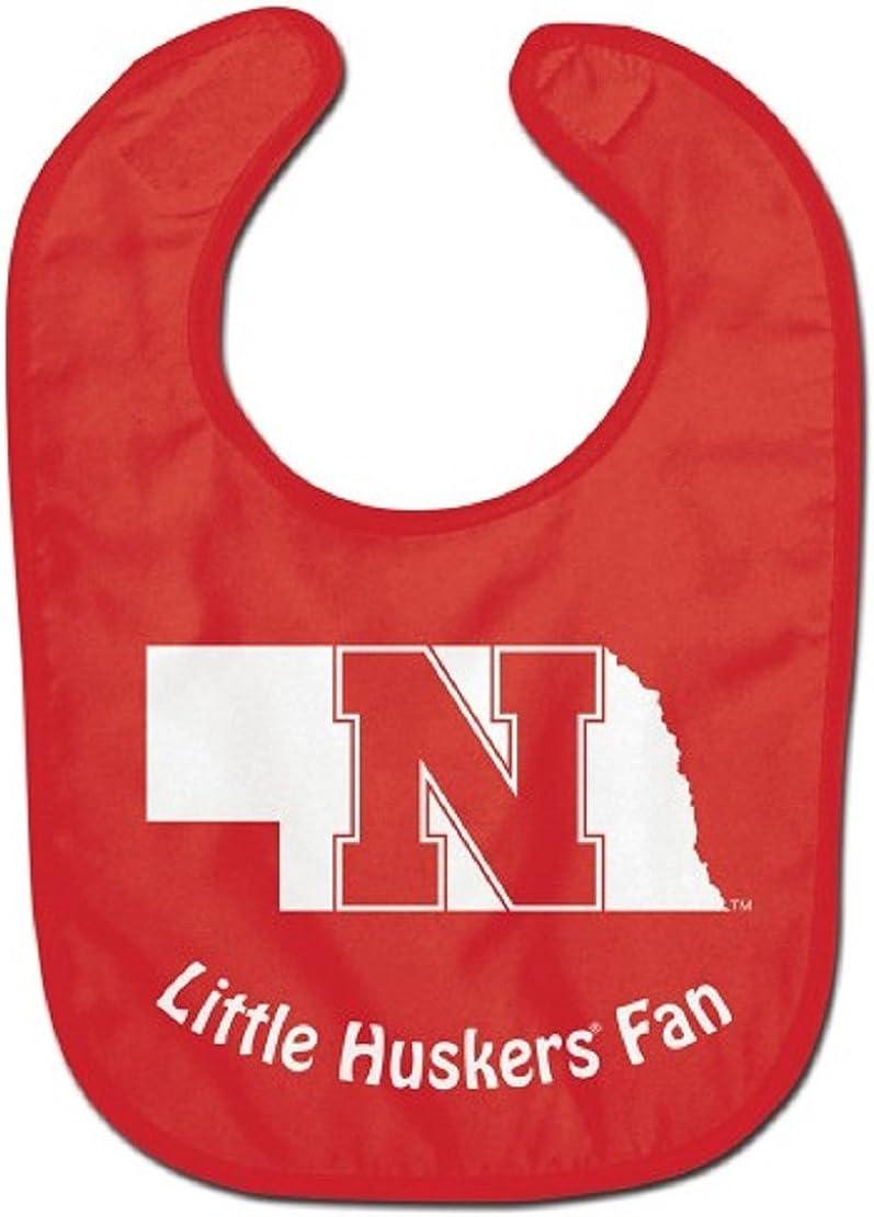 WinCraft Nebraska Cornhuskers All-Pro Team Logo Baby Bib