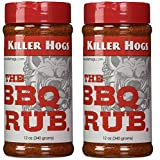 Killer Hogs The BBQ Rub 12 Ounce - 2 Pack