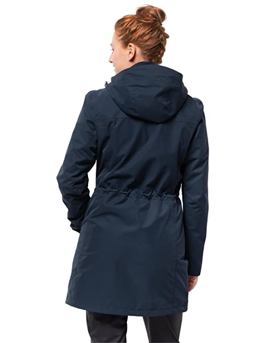 Jack Wolfskin Damen 3 in 1 Mantel Ottawa Coat Jacke: Amazon