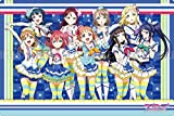 Love Live Sunshine Aqours Riko Dia Chika You Yoshiko Kanan Hanamaru Ruby Mari in Aquarium Costume Full Cast Card Game Rubber Play Mat Collection Vol.69 Part 2