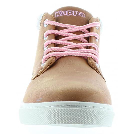 Chaussures Cit Kid Mocha Brown/Pink Lady Jr - Kappa 5vArvWBux
