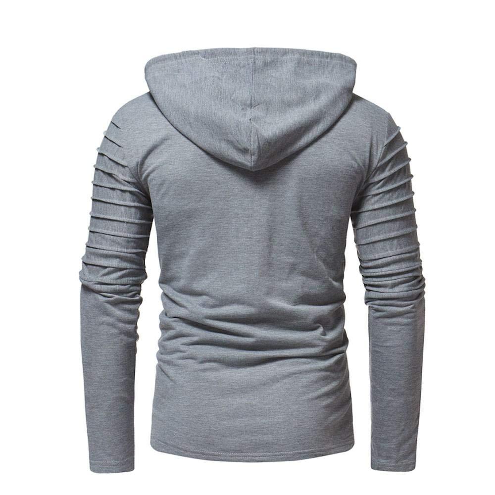 Resplend Chaqueta de Hombre Otoño Casual Cremallera Escudo Slim Fit Pulóvers Outwear Hoodies Blusa: Amazon.es: Ropa y accesorios