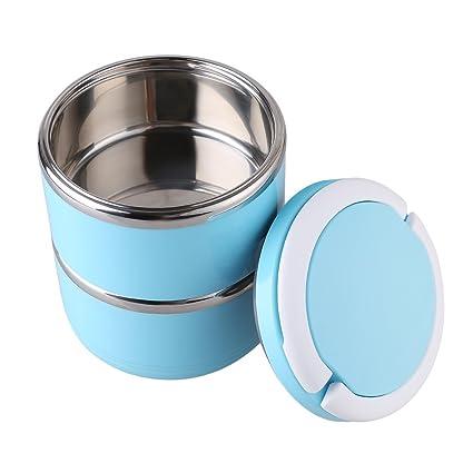 Behälter Edelstahl Brotdose Bento Box Isolierbehälter Lunchbox Thermosbehälter