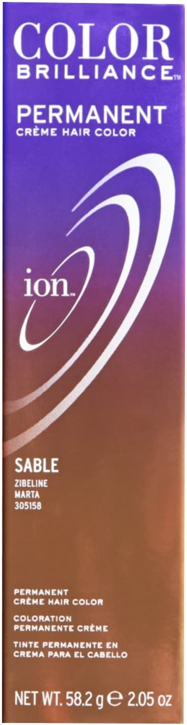 Ion color Brilliance Master Colorist Series Permanent Creme Hair Color Sable by Ion
