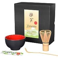 Aricola–Cuenco para té matcha (Cuchara de bambú, brocha