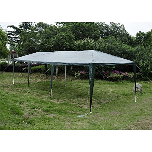Outsunny 10 X 30 Gazebo Canopy Party Tent W Removable