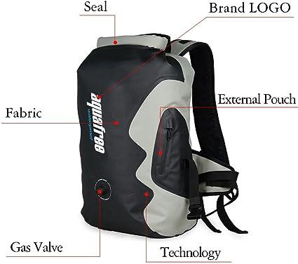 AQUAFREE Dry Bag eb14 20 L Jaune étanche poche