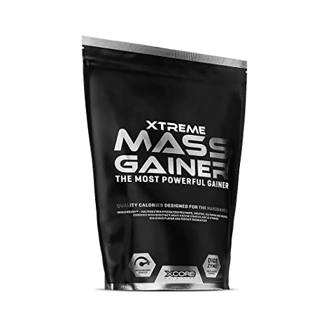 Xcore Nutrition Xtreme Mass Gainer, Banana - 2722 gr
