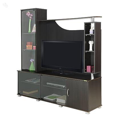Zuari Optima TV Unit (Dark Finish, Brown): Amazon.in: Home & Kitchen