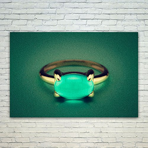 Westlake Art Green Photography - 12x18 Poster Print Wall Art - Modern Picture Photography Home Decor Office Birthday Gift - Unframed 12x18 Inch (Silver Gallery Turquoise Bracelet)