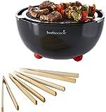 Barbecook 2235925000 carlo barbecue au charbon de bois gril de table sans fum e de 43 5 x 33 5 x - Barbecue charbon sans fumee ...
