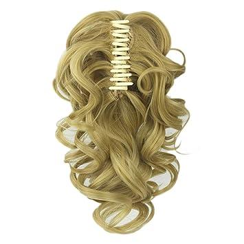 Amazon.com : Soowee False Hair Claw Ponytail
