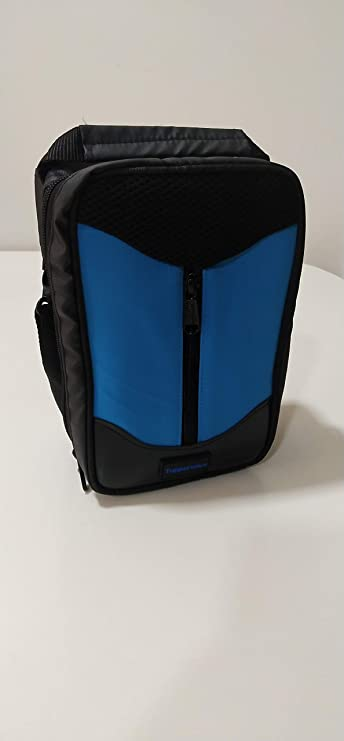 Tupperware Executive Plastic Lunch Bag, 1.5 litres, Black Lunch Boxes
