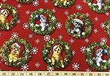 Christmas Kitty Cat Feline Santa Kitten Xmas Snowflake Red Holiday Handcrafted Curtain Valance Review