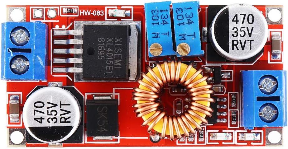 ILS 3 pièces DC-DC 5-32 V à 0,8 – 30 V Module Step Down Régulateur Buck  réglable 5 A LED Driver Batterie Carte de tension de charge: Amazon.fr:  High-tech