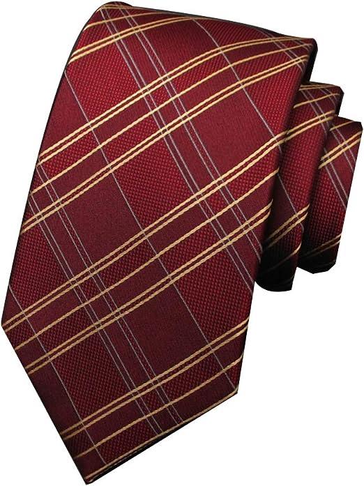 GuanBen Corbatas para Hombres Filamento de Seda Moda Modelo de ...