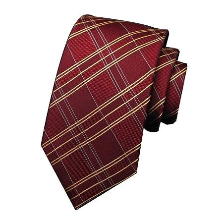 GuanBen Corbatas para Hombres Filamento de Seda Moda Modelo ...