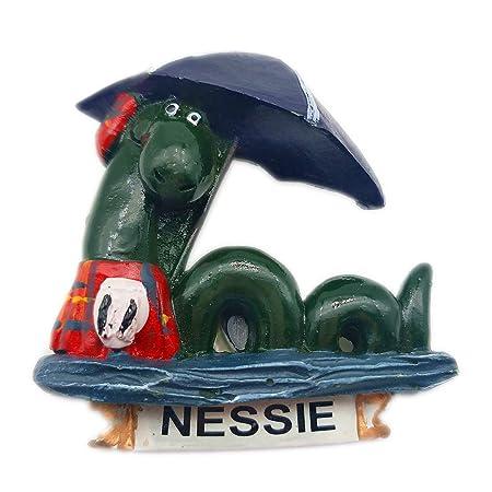 Hqiyaols Souvenir Ness Monster Francia Refrigerador 3D Imán de ...