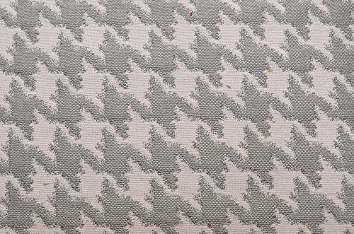 Silver Grey Houndstooth Upholstery M10209 Nickel Merrimac Barrow Fabric -