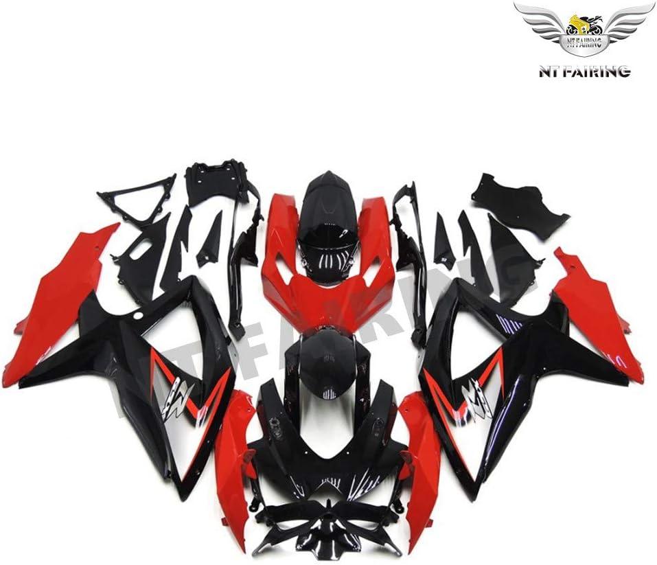 NT Red Fairing Fit for SUZUKI 2008 2009 2010 GSXR 600 750 Injection Mold ABS Plastics Bodywork Bodyframe 08 09 10 A080