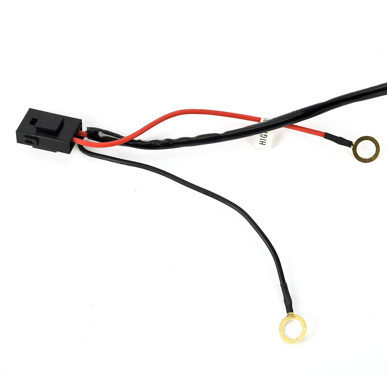 Eyourlife 12v 40a Off Road Led Light Bar On Power Switch Relay Wiring Harness 300w Car Motorbike