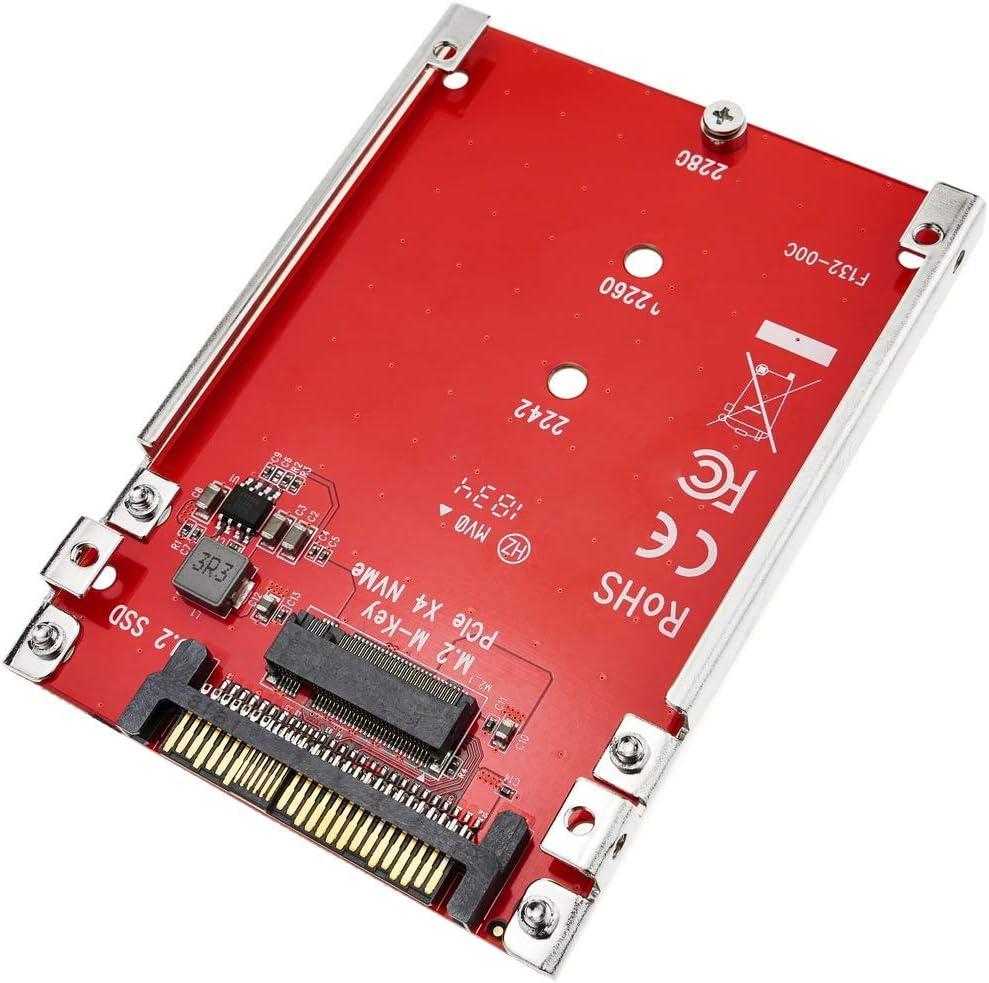 BeMatik - Adaptador de Disco M.2 NVMe SSD a U.2 2.5