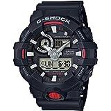 Casio G-Shock Analog-Digital Black Dial Men's Watch - GA-700-1ADR (G714)