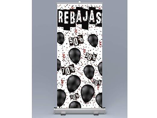 Oedim Roll up Rebajas 100x200cm | Impresión Incluida Máxima ...