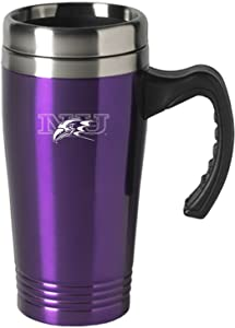 LXG, Inc. Niagara University-16 oz. Stainless Steel Mug-Purple