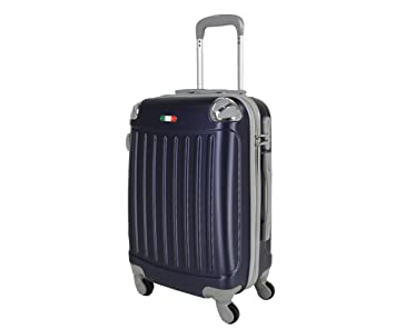 Valise bagage cabine 50cm - Trolley ABS ultra Léger - 4 roues pour voler avec EasyJet - Ryanair DLcvdpKQ