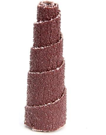 80 Grit 1//8 Arbor Hole PFERD 41667 Untapered Cartridge Roll 12000 Max RPM Aluminum Oxide A Pack of 50 3//4 Diameter x 1 Length