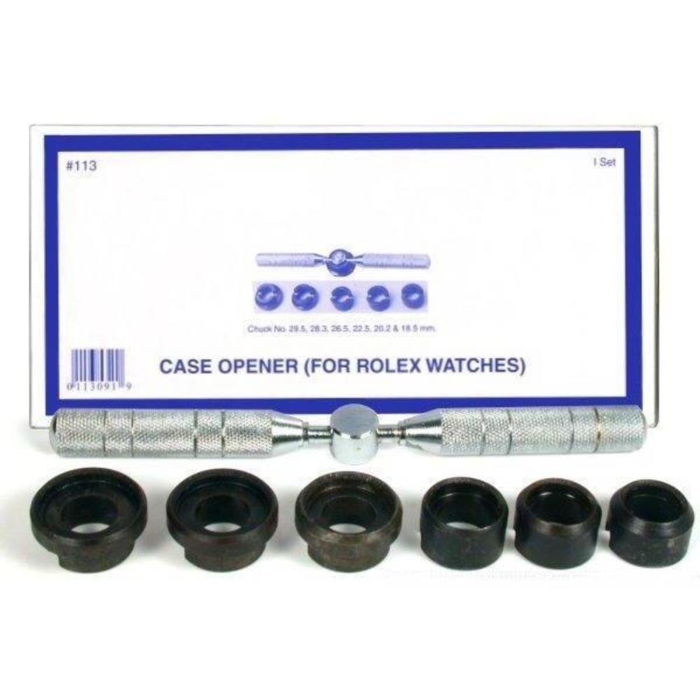 Watch Back Case Opener Wrench fits Rolex 7 Pieces
