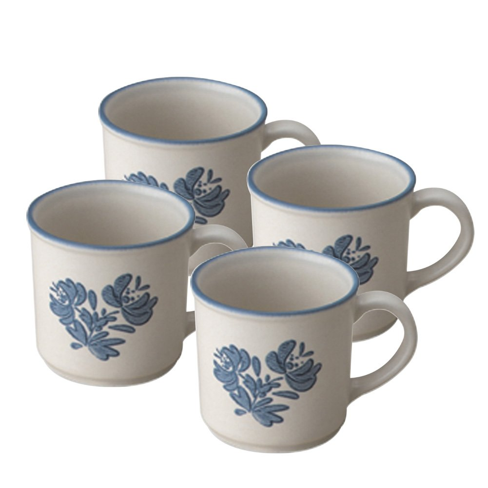 Amazon.com: Pfaltzgraff Yorktowne Coffee Mug (12-Ounce, Set of 4 ...