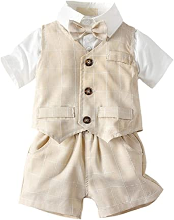 ARTMINE Baby Boy Floral Outfit 5 Years 6 Months