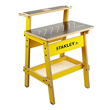 Magnificent Stanley Jr Kids Work Bench Real Wood Craft Kits For Kids Fun Working Bench For Kids Kids Workshop Tool Bench Childrens Play Work Bench Gamerscity Chair Design For Home Gamerscityorg